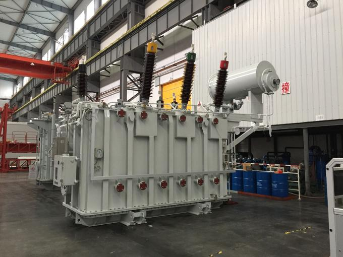 FR3 Vegetable / Mineral Oil Immersed Transformer Manufacturer 3 Phases220KV 20 ~ 400MVA