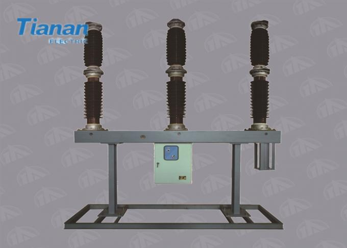 132kv Cb / 145kv High Voltage Circuit Breaker Sf6 Electric Type With 3 Pole