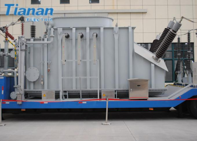 132kv Prefabricated Mobile Vehicle Mounted semi-trailer Transformer Substation