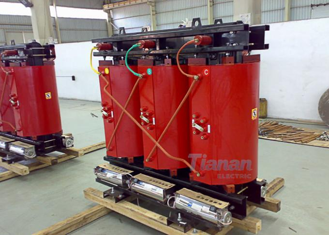 30 - 2500 Kva Cast Resin Dry Type Transformer Thin Insulation With Low Noise