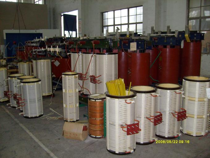 20KV Electrical Distribution Dry Type Electrical Transformers