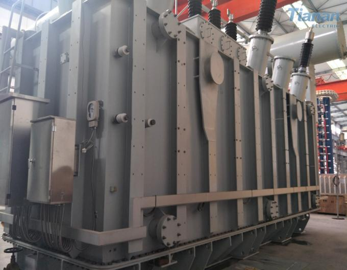 Earthing Oil Immersed Power Transformer 220kv 240mva Compact Structure