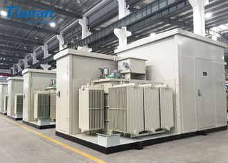 China Prefabricated Compact Transformer Substation For Photovoltaic  / Wind Power supplier