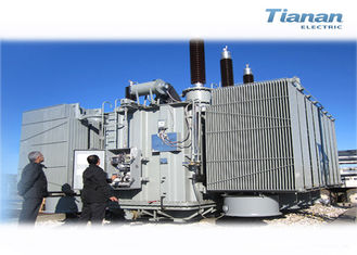 China 242kv 150MVA off Load Industrial  Oil immersed Compact Transformer Substation supplier