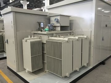 China 35kV Oil  /  Dry Type Transformer Prefabricated Substation For Wind & Photovolaic supplier