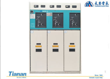 China Indoor Gas - Insulated Medium Voltage Switchgear 10kV GIS Ring Main Unit Cabinet supplier