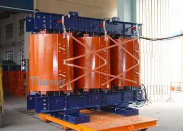 China 30 - 2500 Kva Cast Resin Dry Type Transformer Thin Insulation With Low Noise supplier