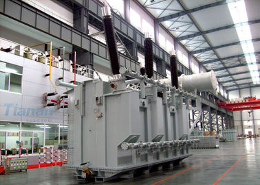 China 230kV 120000KVA High Strength Electrical Power Oil Immersed Type Transformer supplier