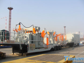 China Prefabricated 132KV  Semi-trailer Vehicle-mounted Mobile Substation supplier