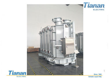 China Copper Oil Type Transformer , Electrical Oil Filled Distribution Transformer supplier
