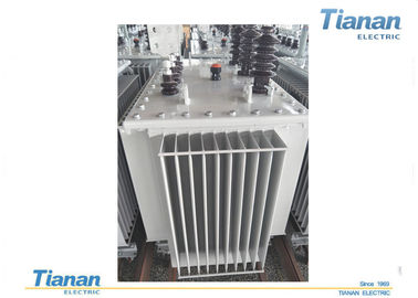 China Oil Type Three Phase Power Transformers Full Sealed With Low Temperature Noise supplier