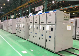 China Indoor High Voltage Gas Insulated Switchgear 35kv With Cabinet Structure supplier