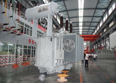 China Oltc Three Phase Oil Immersed Power Transformer 35kv With Two Winding supplier