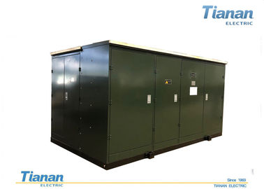 China YB Series Oil Compact Transformer Substation Prefabricated substation supplier