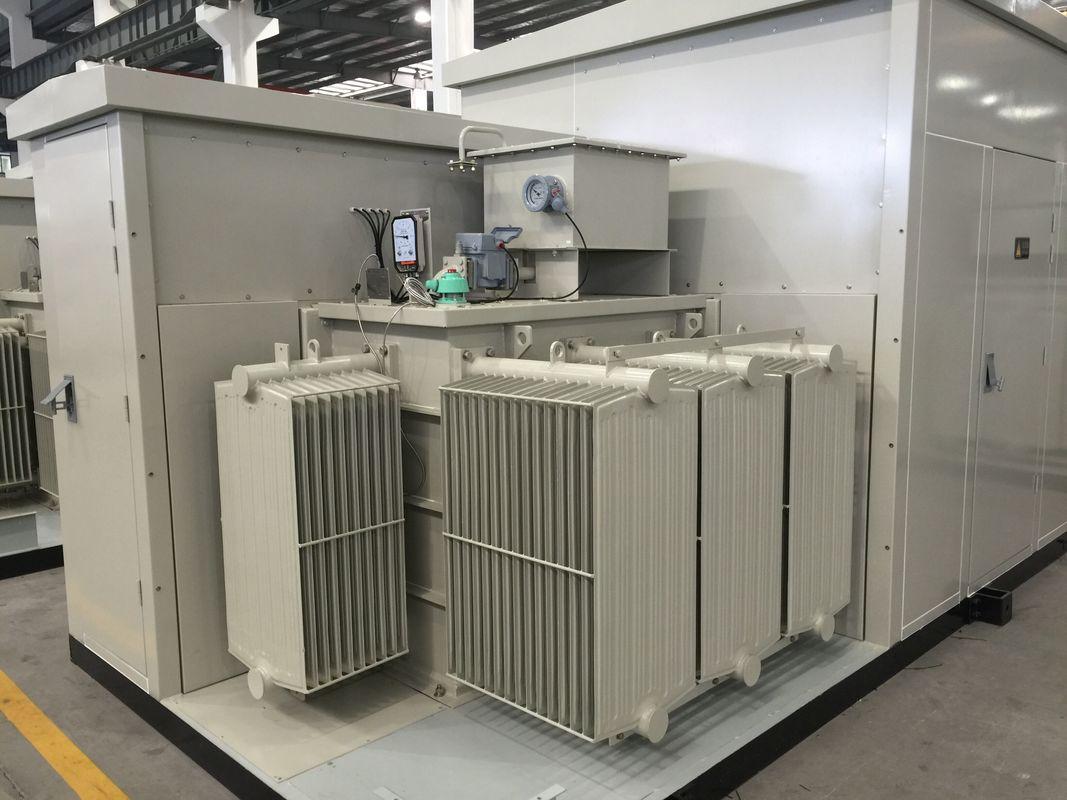 35kV Oil / Dry Type Transformer Prefabricated Substation For