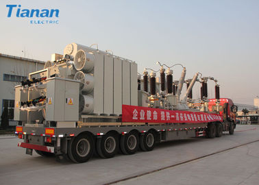 China 132kv Outdoor Distribution Emergency Power Mobile Transformer Substation distributor
