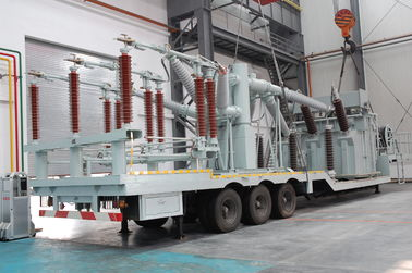 China 132 Kv Vehicle Mounted Transformer Substation /  Prefabricated Mobile Substation distributor