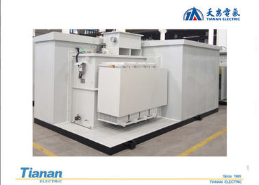 China 1600kva Prefabricated High Voltage Substation For Wind Power Generation distributor