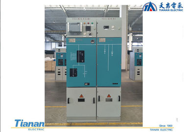 China 40.5 Kv  Sf6 RMU Switchgear Gas Insulated Combined Apparatus With 3 units distributor