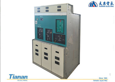China Sf6 Gas Insulated Switchgear , Ring Main Unit 12 Kv Switchgear Metal -  Enclosure factory