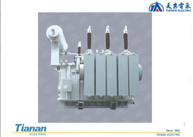 China High Strength Three Phase Power Transformers Oil Immersed Type 110kv distributor