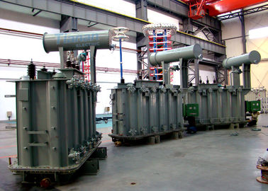 China 110kV Three Phase Electrical Oil Immersed  Power Transformers factory