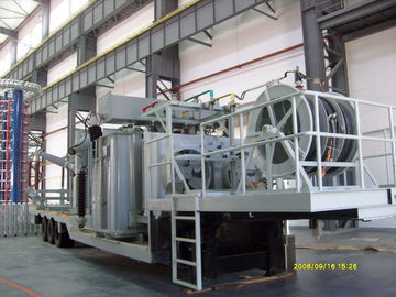 China 132KV Mobile Transformer Substation / Distribution Movable Power Substation distributor