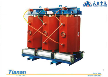 China Indoor 10 KV Three phase Resin Cast Dry - type Power Distribution Transformer distributor