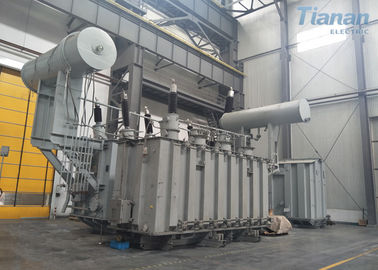 China Earthing Oil Immersed Power Transformer 220kv 240mva Compact Structure factory