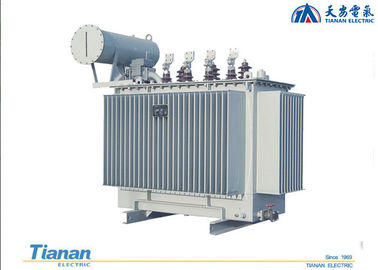 China 10 - 35 kv Oil Immersed Distribution Transformer 20 KV Three Phase Copper Winding distributor