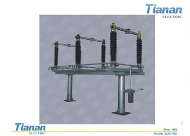 China Gw4 Three - Phase Hv Disconnect Switch Outdoor Ac 126kv With Earthing Switch distributor