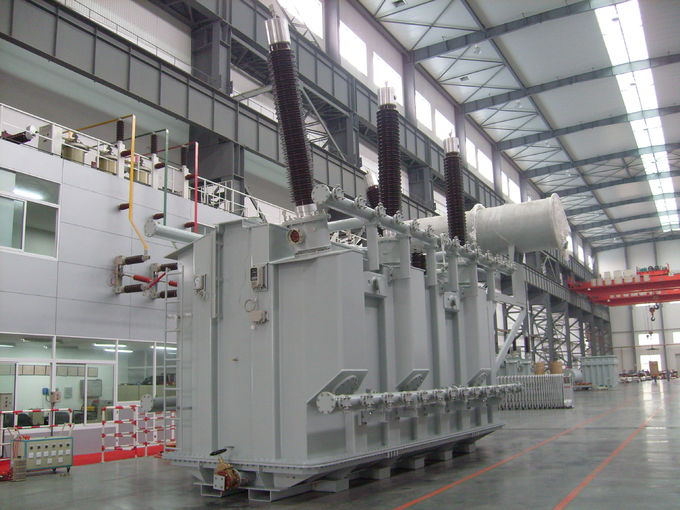 230kV 120000KVA High Strength Electrical Power Oil Immersed Type Transformer