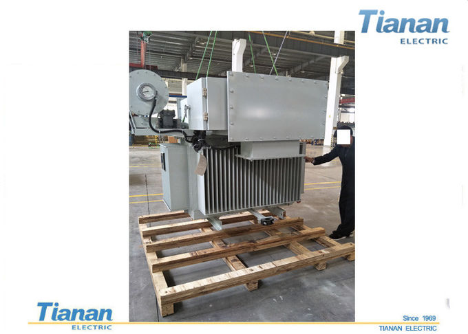 Oil Type Three Phase Power Transformers Full Sealed With Low Temperature Noise